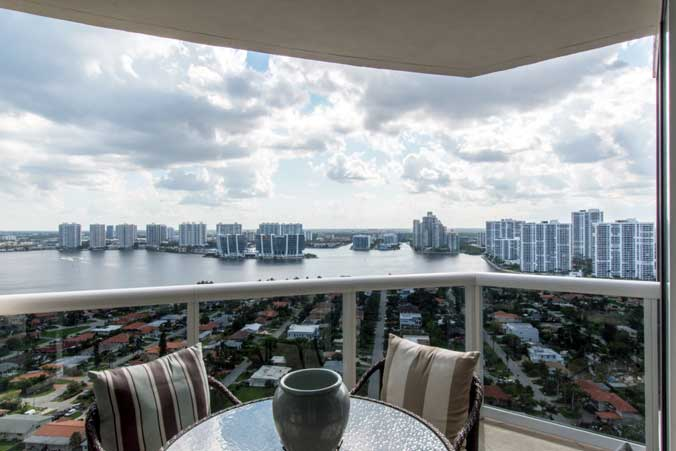 Ocean 3 Unit 2905 Balcony